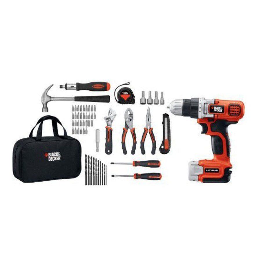 BLACK & DECKER 12-Volt Max 3/8-in Cordless Drill with Battery and Soft Case