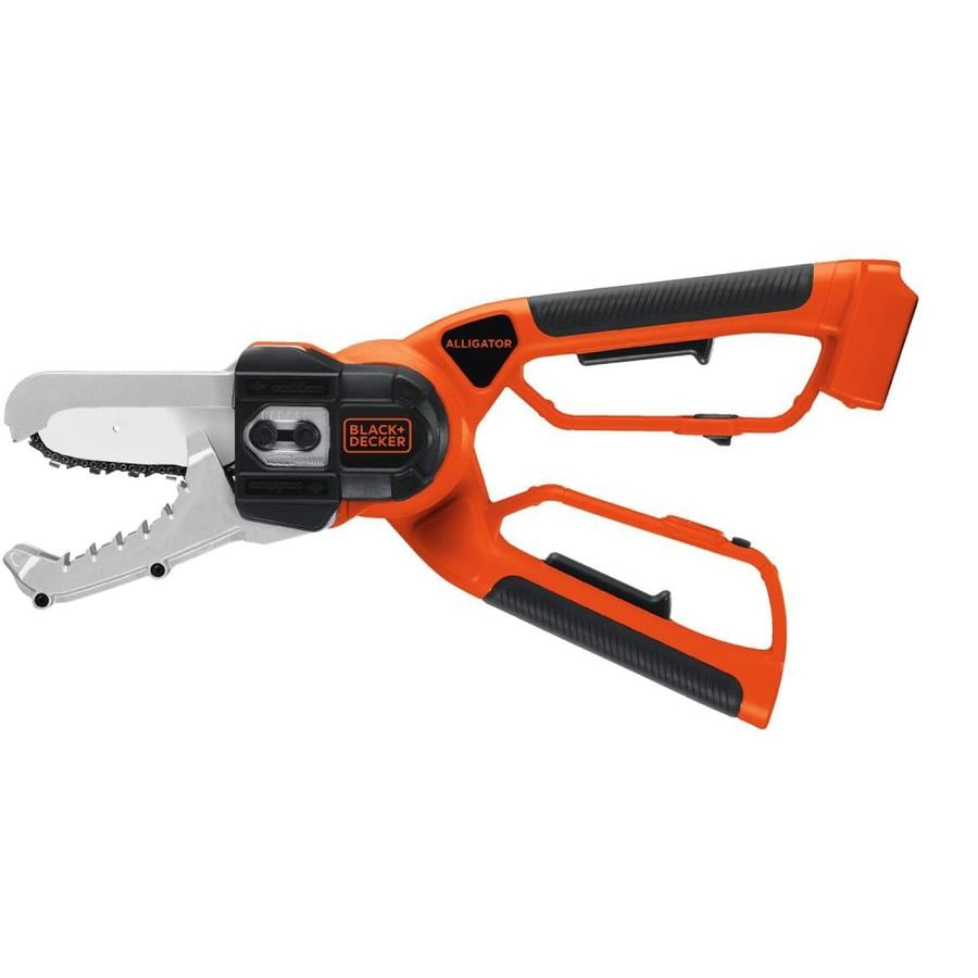 BLACK & DECKER Alligator 20-Volt Lithium Ion (Li-ion) 6-in Cordless Electric Chainsaw (Bare Tool Only)