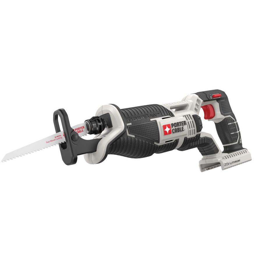 PORTER-CABLE 20-Volt Max Variable Speed Cordless Reciprocating Saw (Bare Tool)