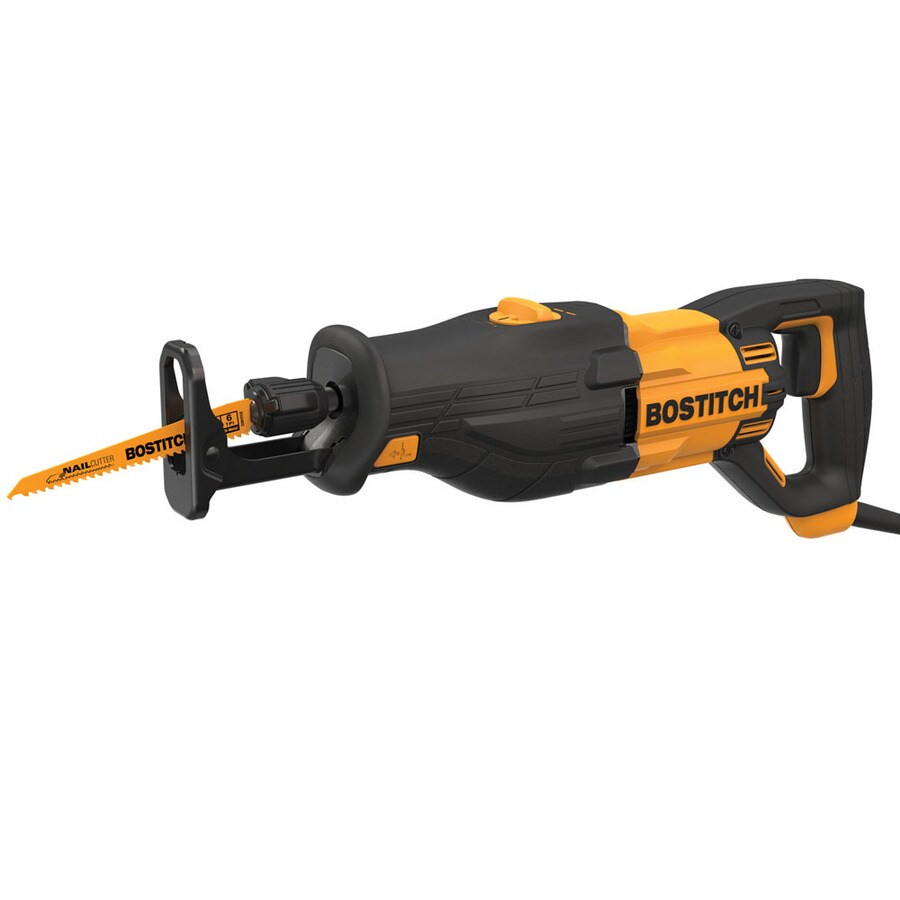 Bostitch 8.5 Amp Keyless Variable Speed Corded Reciprocating Saw