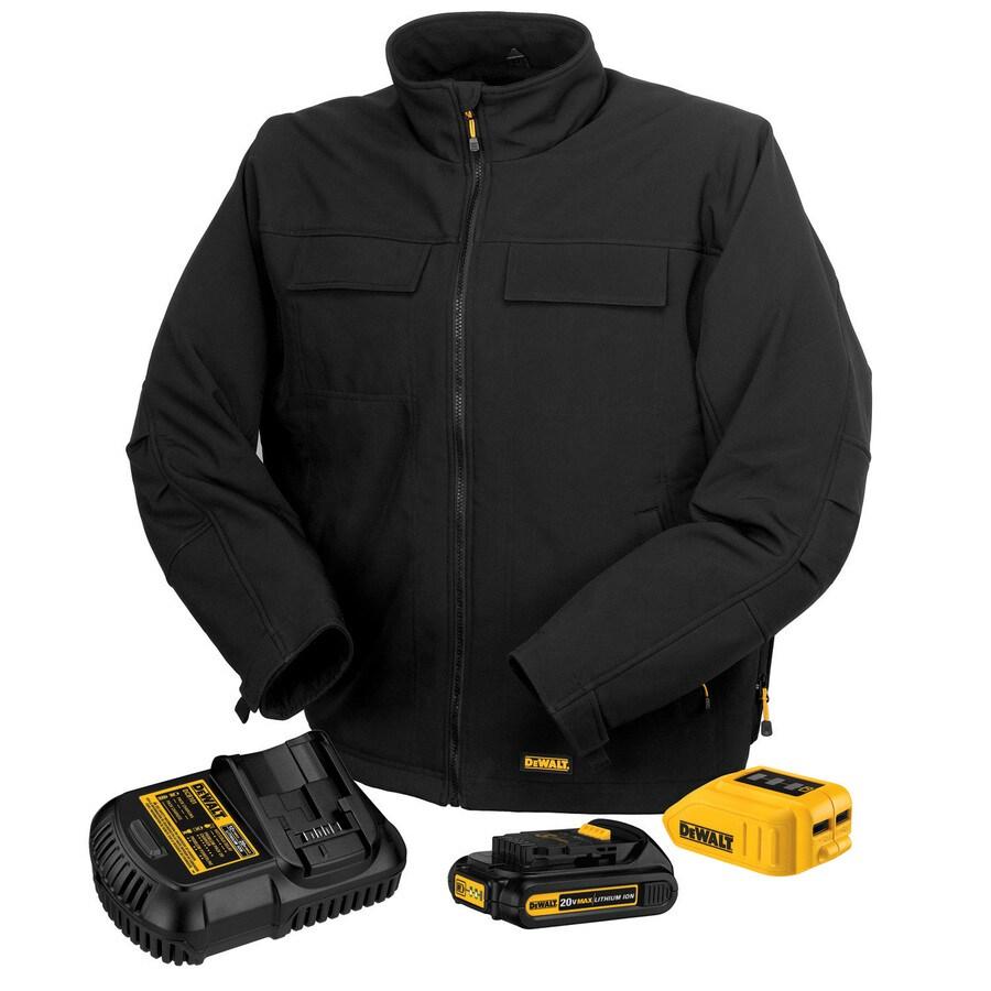 DEWALT Large Black Lithium Ion Heated Jacket