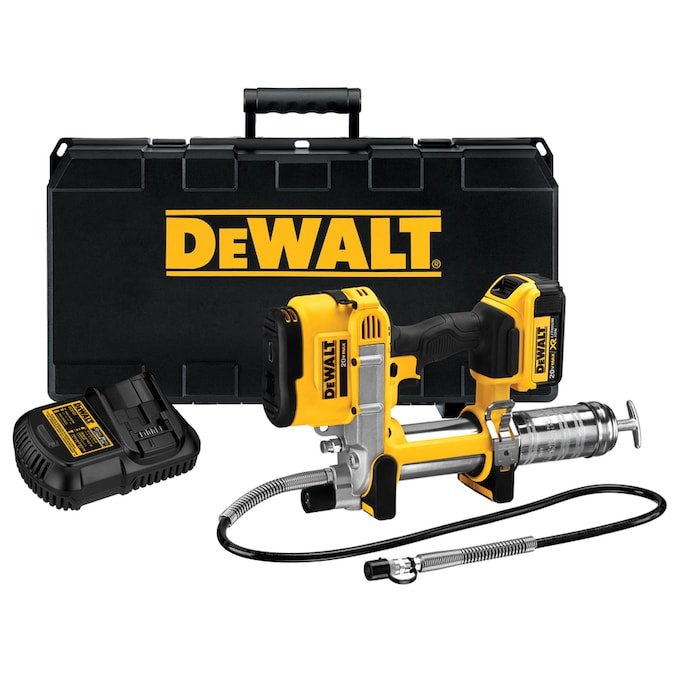 DEWALT 20-volt Max Air Grease Gun Battery Included
