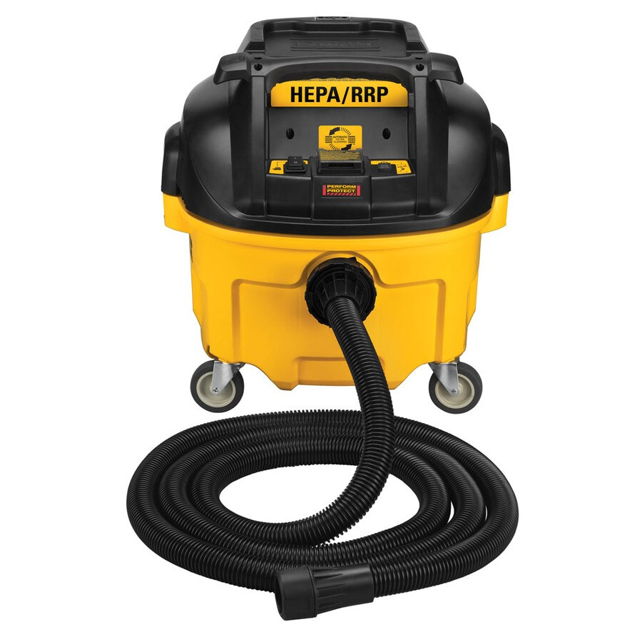 DEWALT 8-Gallon 0-Peak-HP Shop Vacuum