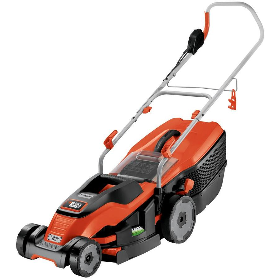 BLACK & DECKER 10-Amp 15-in Deck Width Push Corded Electric Push Lawn Mower