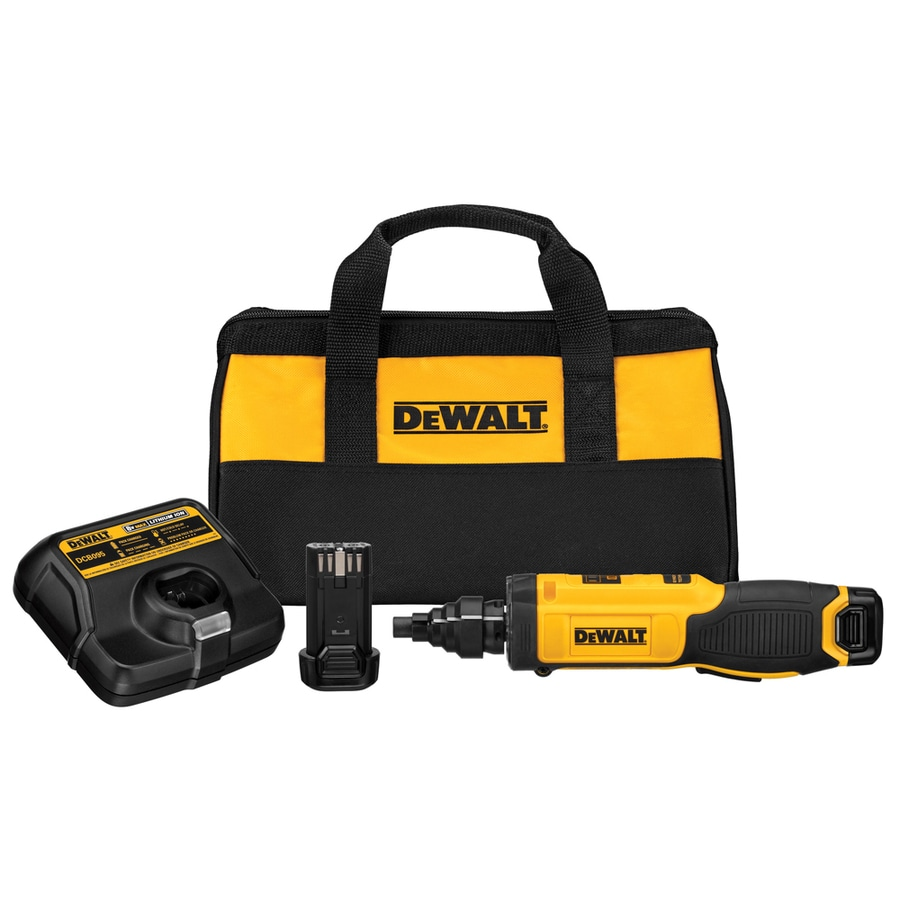 DEWALT 8-Volt Lithium Ion 1/4-in Cordless Drill with Battery and Soft Case