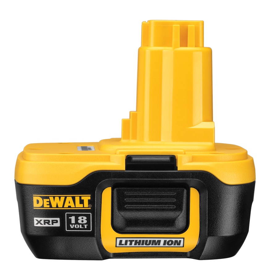 Dewalt 18 volt 2 2 amp hours lithium power tool battery at lowes com