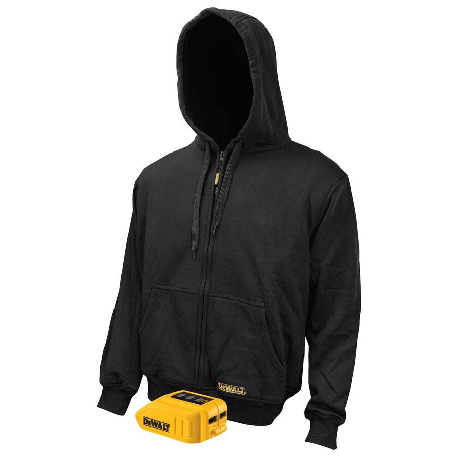 DEWALT Small Black Lithium Ion (Li-Ion) Heated Jacket