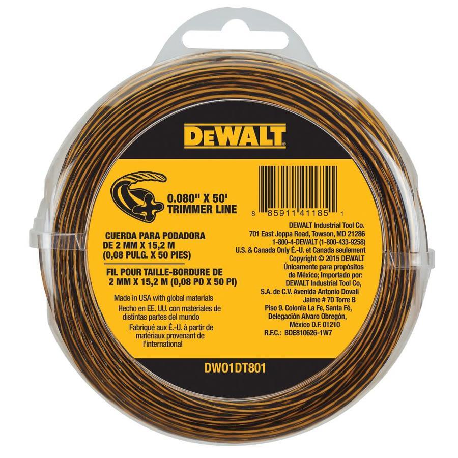 DEWALT 50-ft Spool 0.08-in Trimmer Line