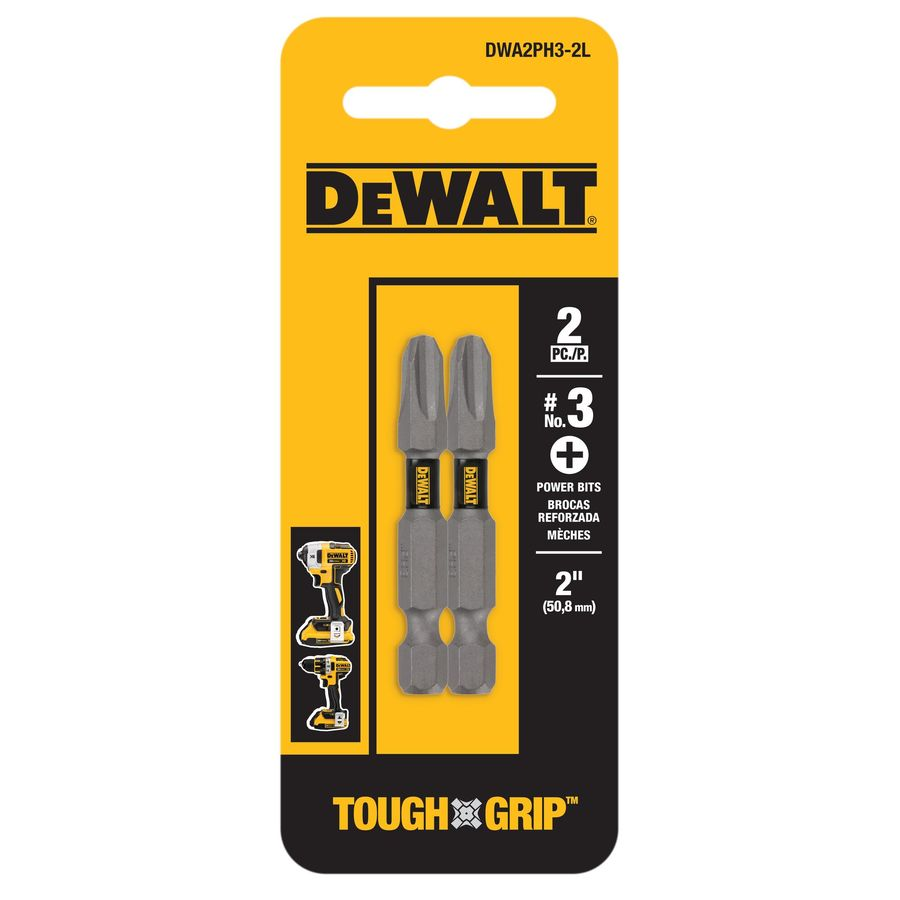 DEWALT 2-Pack 2-in Phillips Screwdriver Bit