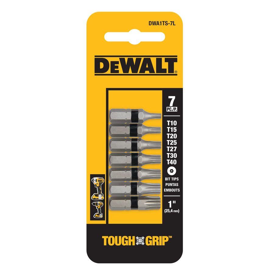 DEWALT 7-Piece Screwdriver Bit Set