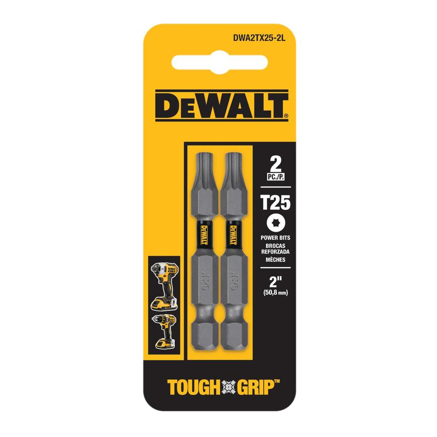 DEWALT 2-Pack 2-in Torx Screwdriver Bit