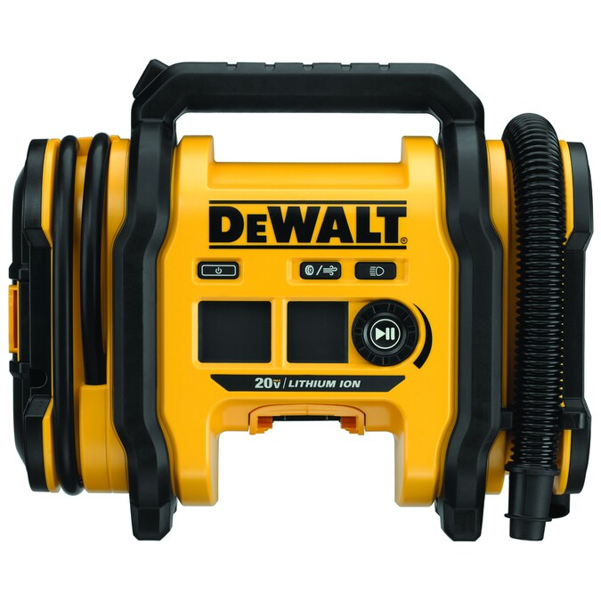 DEWALT 110-Volt Lithium Ion (Li-Ion) Air Inflator (Power Source: Battery; Car; Electric)