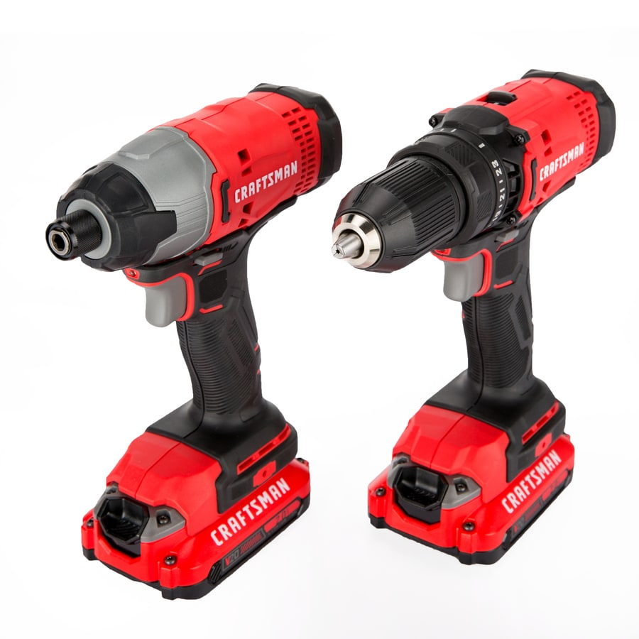 Craftsman 20V MAX Cordless Drill and Impact Driver Combo Kit New Sealed
