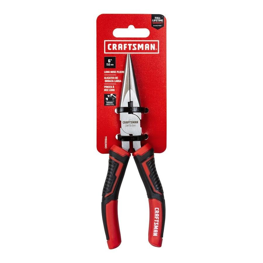 NEW CRAFTSMAN MINI LONG NOSE  PLIERS WITH  WIRE CUTTER