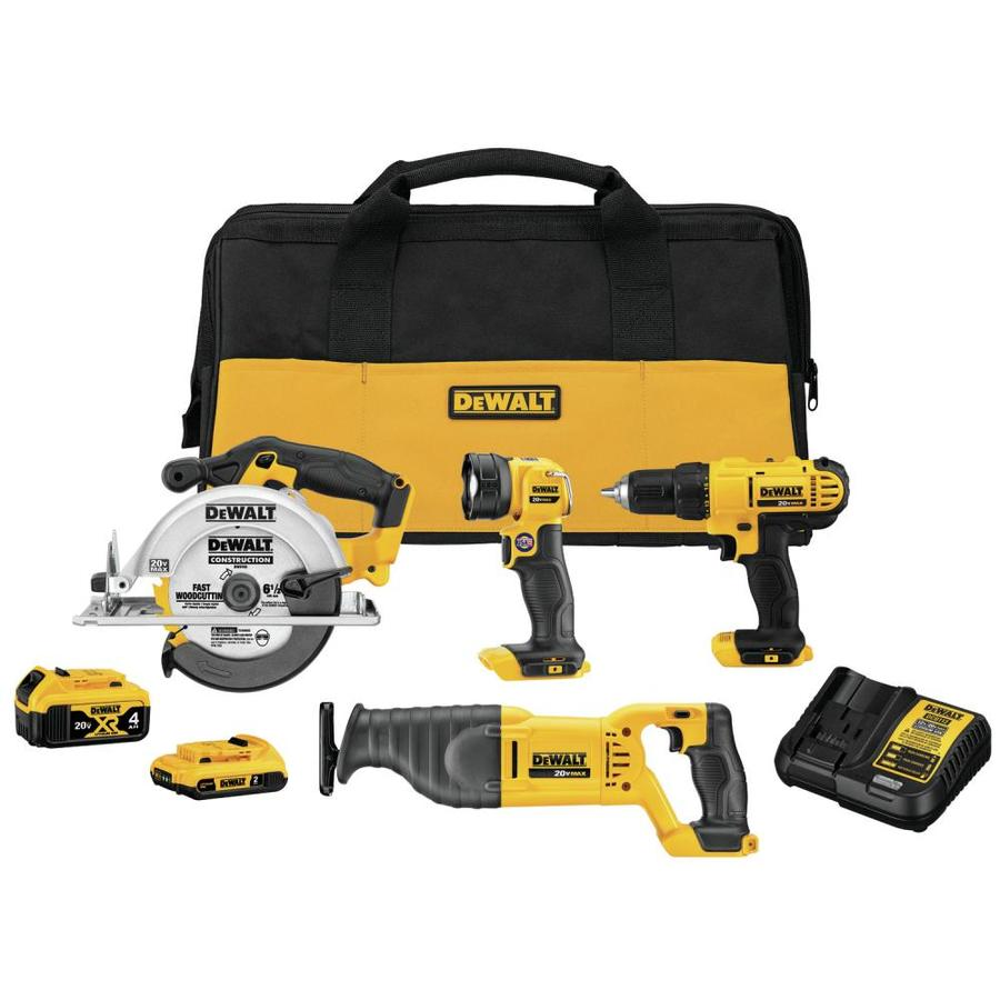 18 Volt Lithium Ion Cordless Drill Combo Tool Kit 2 2.0Ah Batteries Charger Bag