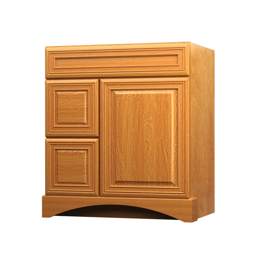 Shop kraftmaid summerfield bartlett praline casual Kraftmaid bathroom cabinets
