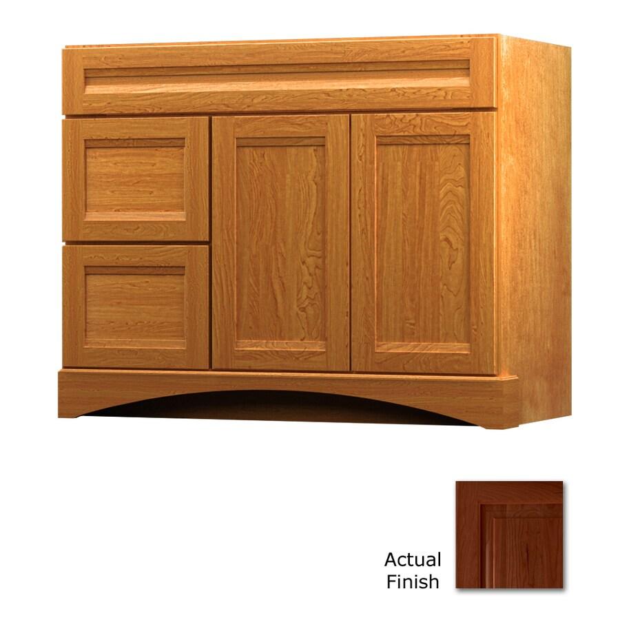 KraftMaid Summerfield Sonata Autumn Blush Casual Bathroom Vanity (Common: 42-in x 21-in; Actual: 42-in x 21-in)