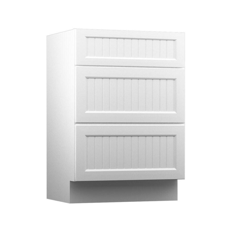 KraftMaid Nordic White Casual Bathroom Vanity (Common: 18-in x 18-in; Actual: 18-in x 18-in)