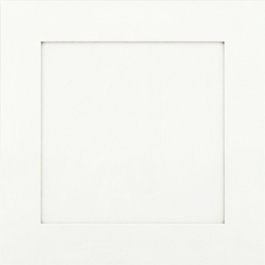 KraftMaid Deveron Maple Dove White 15-in x 15-in Dove White Maple Square Cabinet Sample