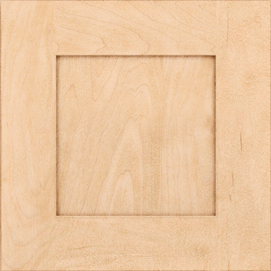 KraftMaid Durham Maple Natural 15-in x 15-in Natural Maple Square Cabinet Sample
