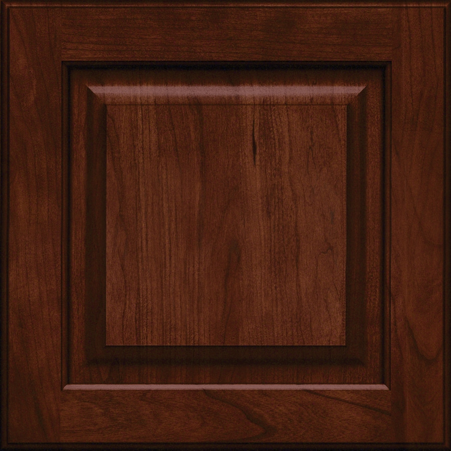 KraftMaid Montclair Cherry Kaffe 15-in x 15-in Kaffe Cherry Square Cabinet Sample