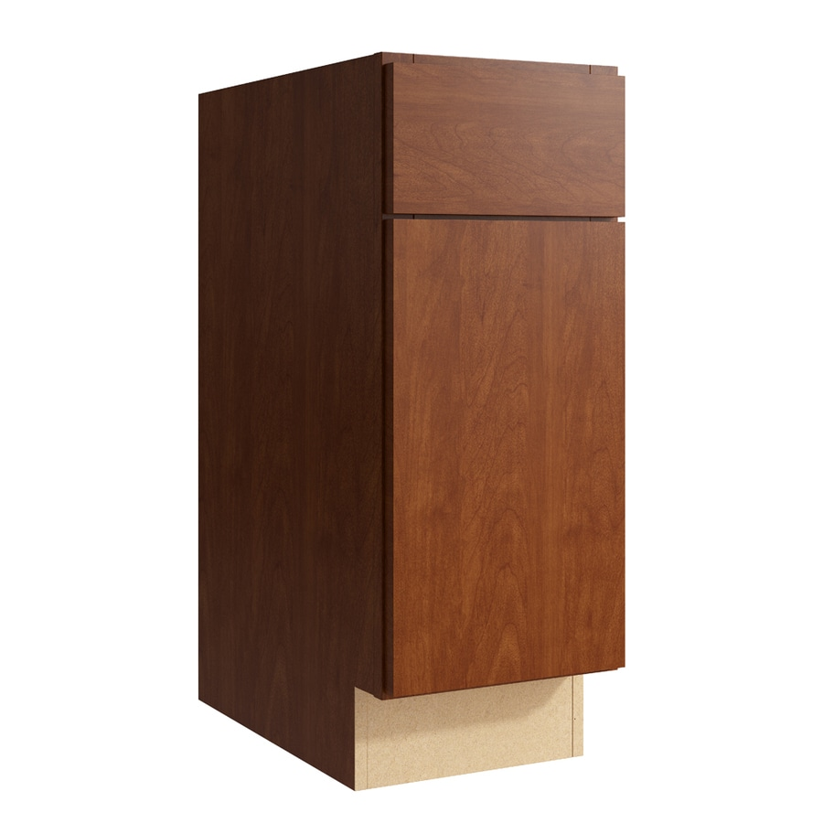 KraftMaid Momentum Sable Frontier 1-Door Right-Hinged Base Cabinet (Common: 12-in x 21-in x 31.5-in; Actual: 12-in x 21-in x 31.5-in)