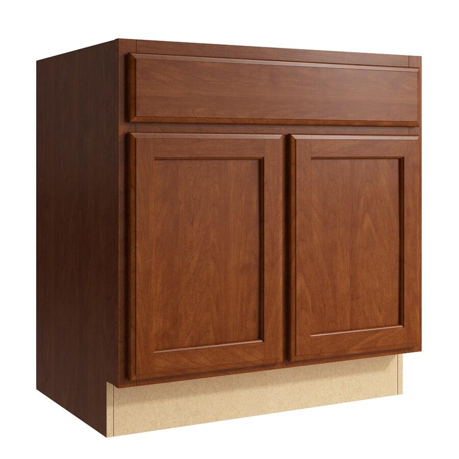 KraftMaid Momentum Sable Kingston 2-Door Base Cabinet (Common: 30-in x 21-in x 31.5-in; Actual: 30-in x 21-in x 31.5-in)