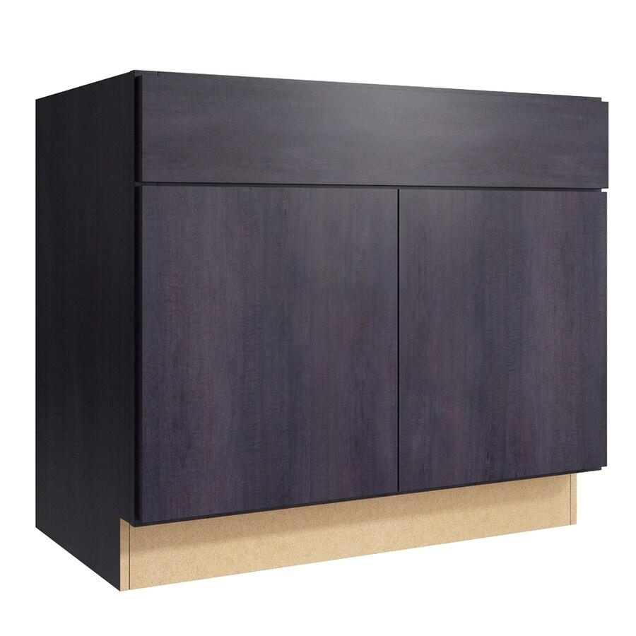 KraftMaid Momentum Dusk Frontier 2-Door Base Cabinet (Common: 36-in x 21-in x 31.5-in; Actual: 36-in x 21-in x 31.5-in)