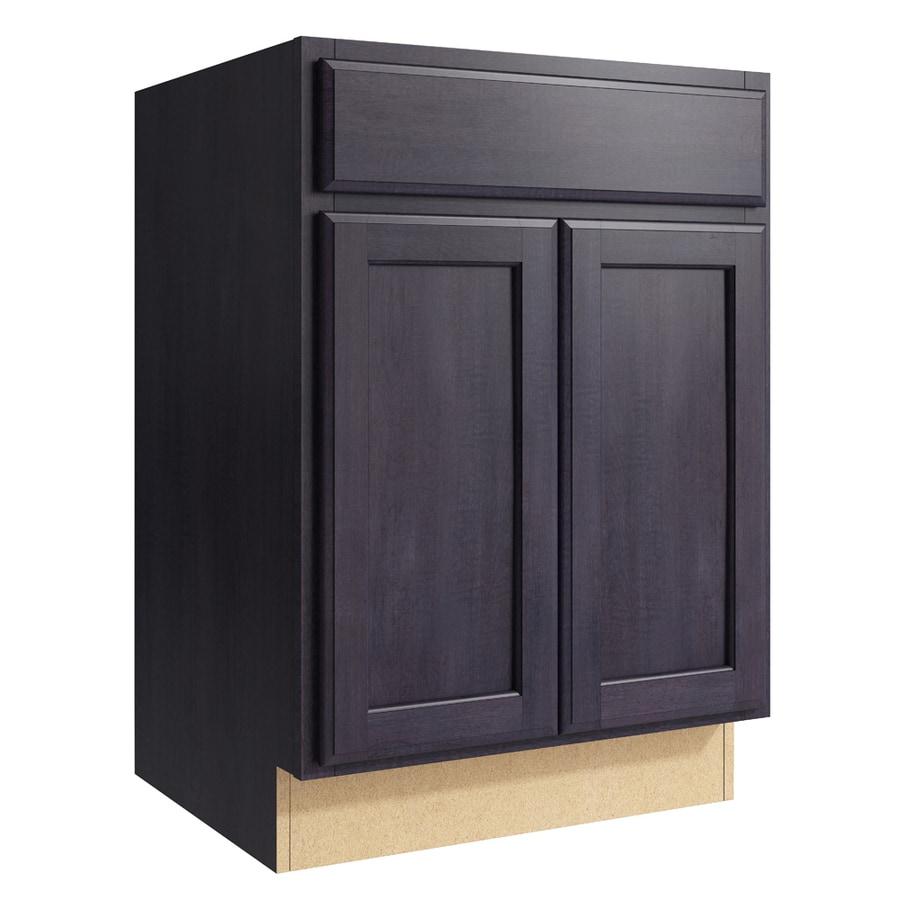 Shop KraftMaid Momentum Dusk Kingston 2-Door Base Cabinet