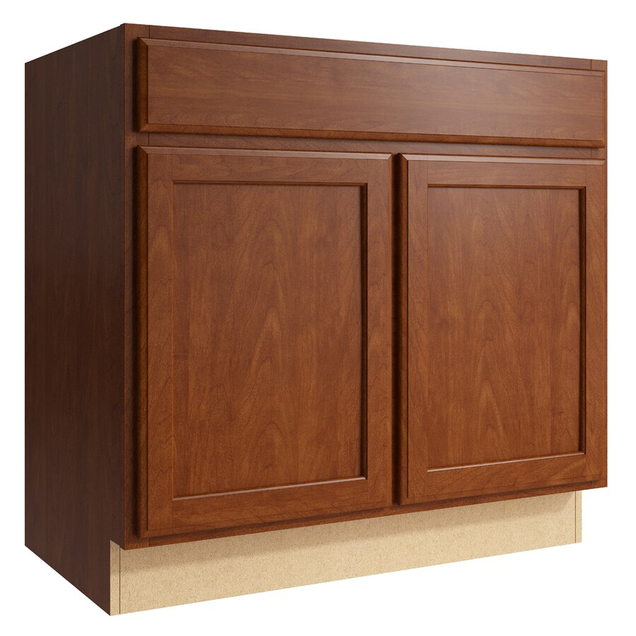 KraftMaid Momentum Sable Kingston 2-Door Base Cabinet (Common: 36-in x 21-in x 34.5-in; Actual: 36-in x 21-in x 34.5-in)