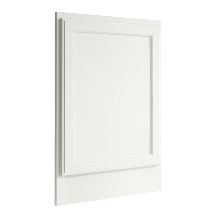 KraftMaid Momentum Cotton Standard Kingston Decorative End Panel (Common: 21-in x 0.937 x 31.5-in; Actual: 20.25-in x 0.937 x 31.5-in)