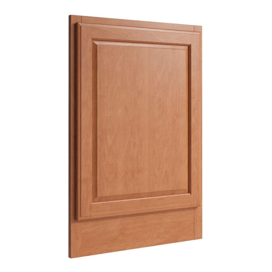 KraftMaid Momentum Hazelnut Standard Settler Decorative End Panel (Common: 21-in x 0.937 x 31.5-in; Actual: 20.25-in x 0.937 x 31.5-in)