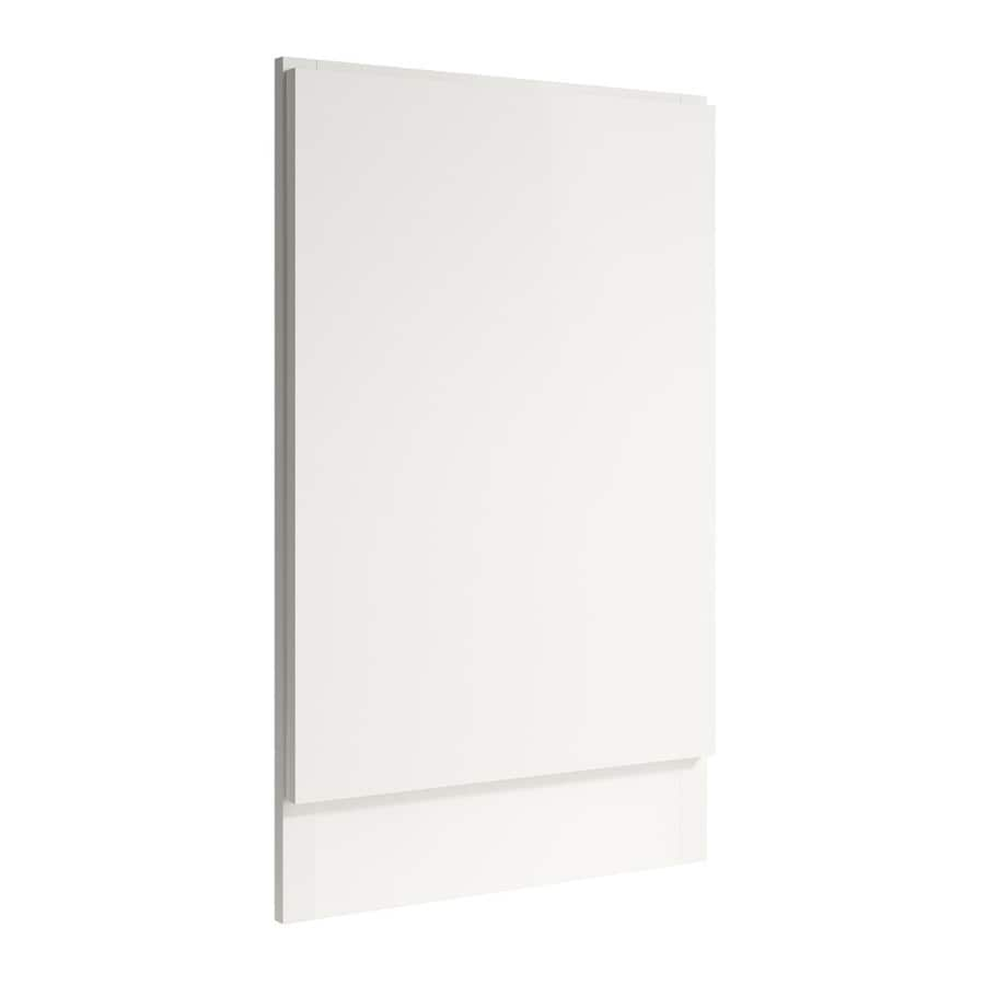 KraftMaid Momentum Cotton Standard Frontier Decorative End Panel (Common: 21-in x 0.937 x 34.5-in; Actual: 20.25-in x 0.937 x 34.5-in)