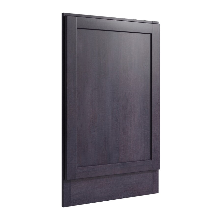 KraftMaid Momentum Dusk Standard Paxton Decorative End Panel (Common: 21-in x 0.937 x 34.5-in; Actual: 20.25-in x 0.937 x 34.5-in)