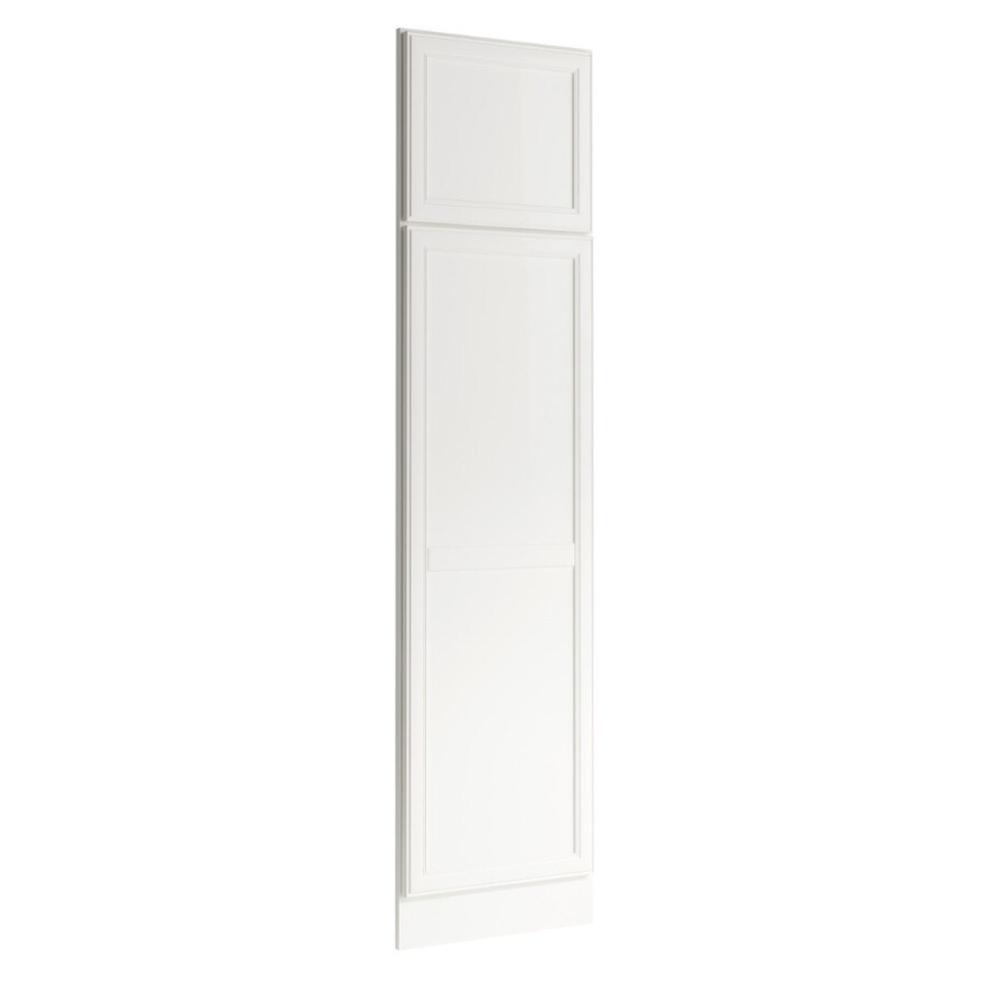 KraftMaid Momentum Cotton Standard Bellamy Decorative End Panel (Common: 21-in x 0.937 x 84-in; Actual: 20.25-in x 0.937 x 84-in)