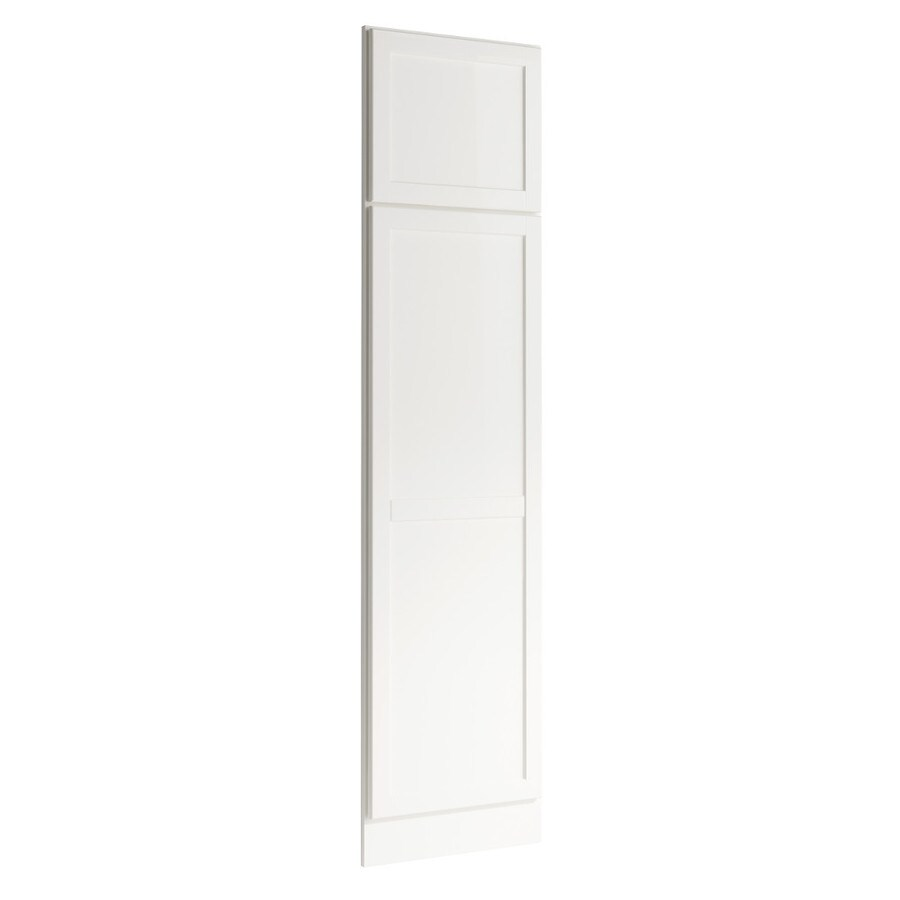 KraftMaid Momentum Cotton Standard Paxton Decorative End Panel (Common: 21-in x 0.937 x 84-in; Actual: 20.25-in x 0.937 x 84-in)