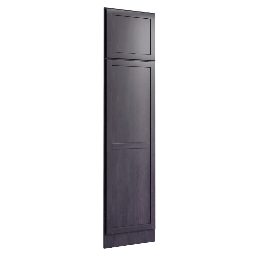 KraftMaid Momentum Dusk Standard Paxton Decorative End Panel (Common: 21-in x 0.937 x 84-in; Actual: 20.25-in x 0.937 x 84-in)