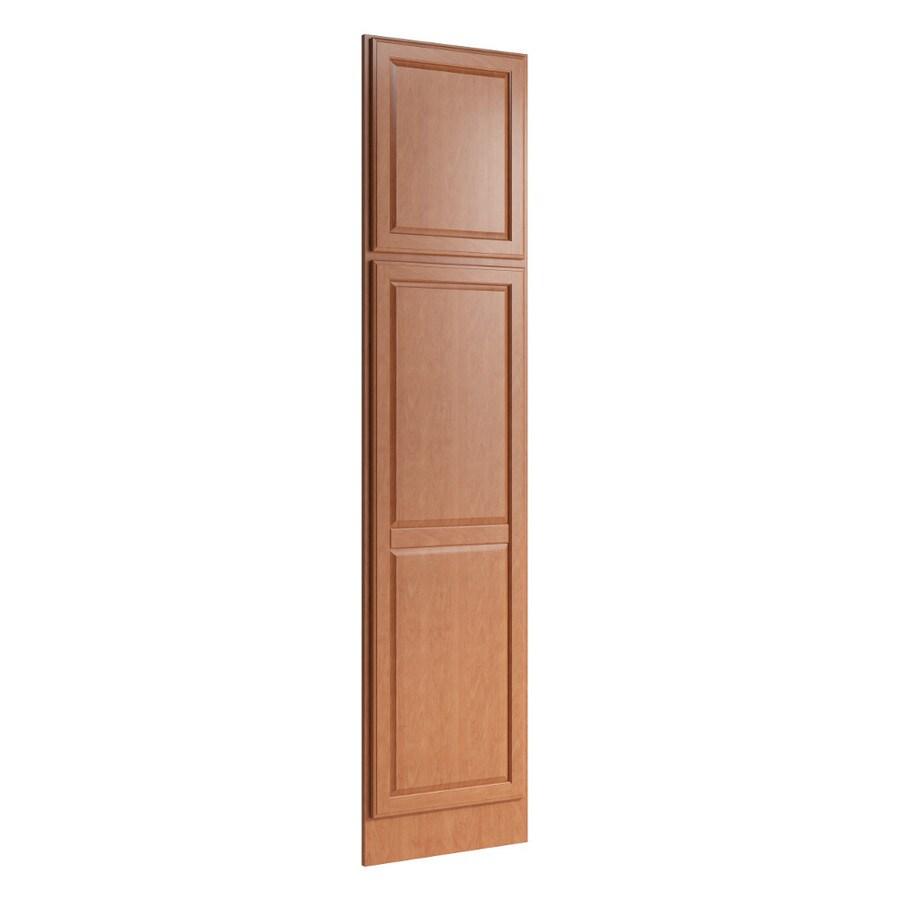 KraftMaid Momentum Hazelnut Standard Settler Decorative End Panel (Common: 21-in x 0.937 x 90-in; Actual: 20.25-in x 0.937 x 90-in)