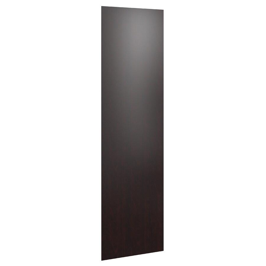 KraftMaid Momentum Kona Standard Bellamy Flush-Fit End Panel (Common: 24-in x 0.187 x 84-in; Actual: 23.25-in x 0.187 x 84-in)