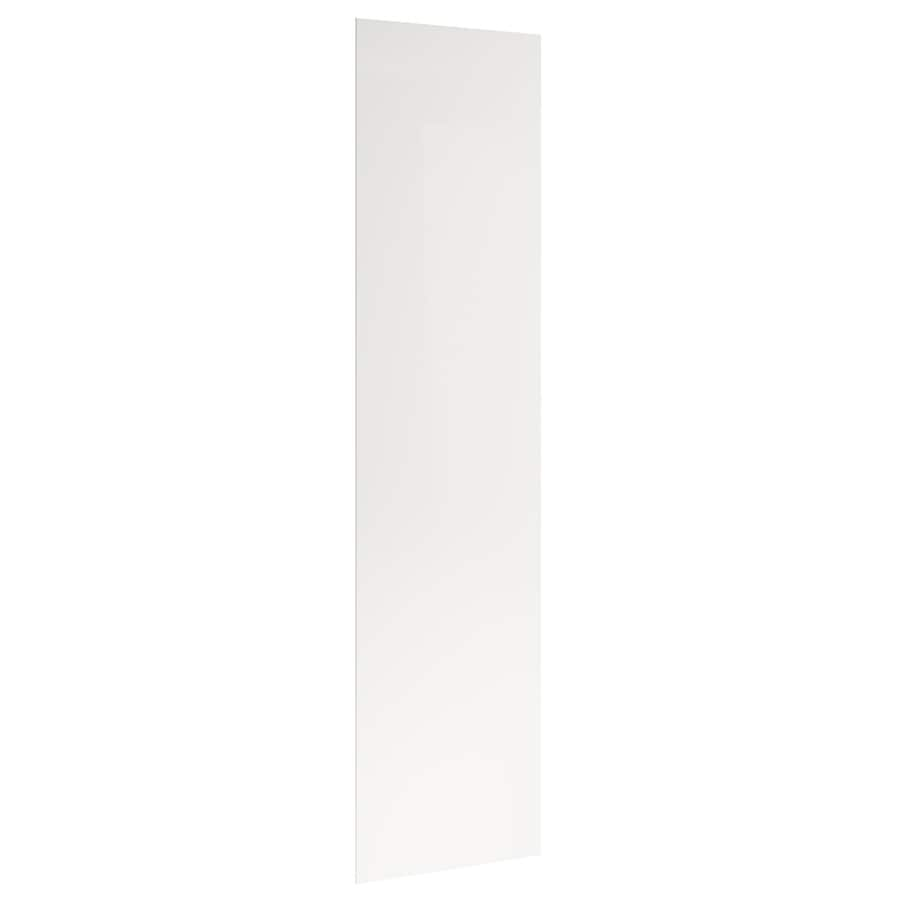 KraftMaid Momentum Cotton Standard Bellamy Flush-Fit End Panel (Common: 24-in x 0.187 x 96-in; Actual: 23.25-in x 0.187 x 96-in)
