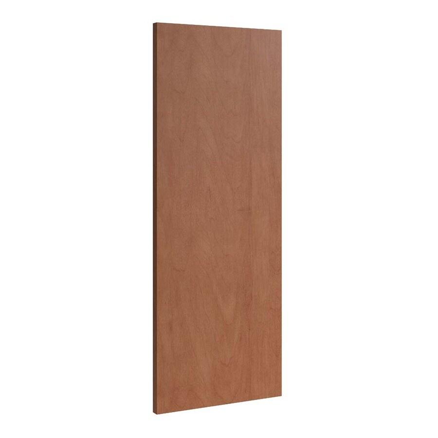 KraftMaid Momentum Hazelnut Standard Bellamy Flush-Fit End Panel (Common: 12-in x 0.187 x 30-in; Actual: 11.25-in x 0.187 x 30-in)