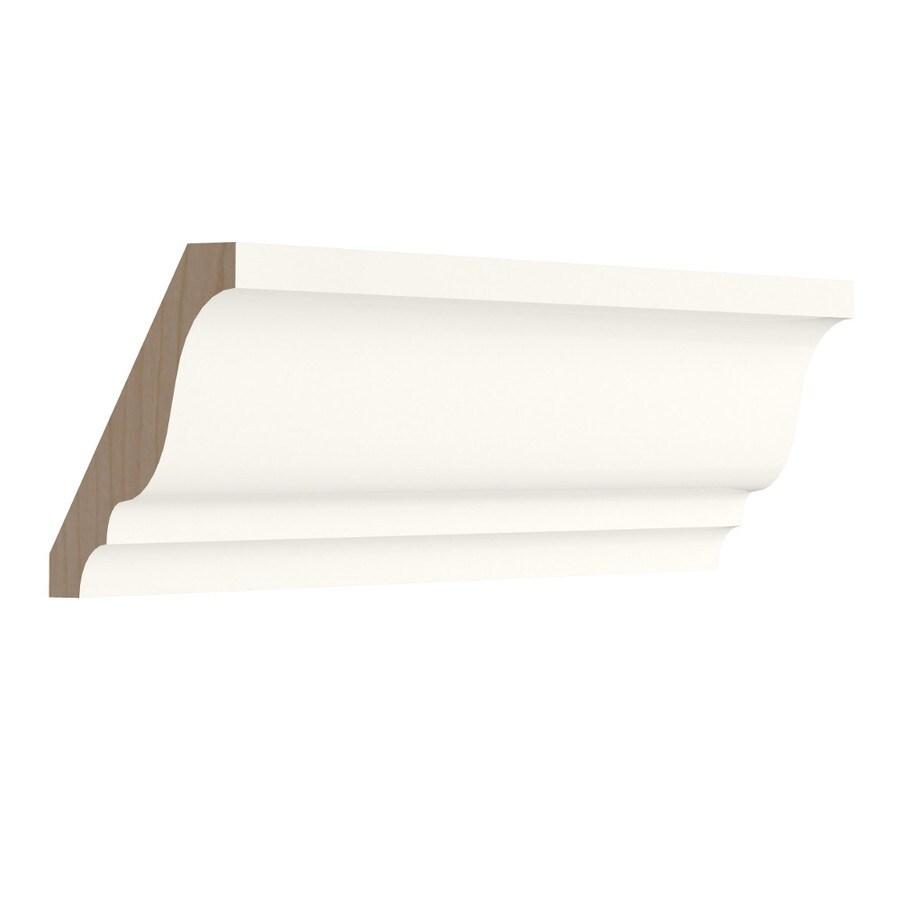 KraftMaid Momentum Cotton Standard Bellamy Crown Moulding (Common: 96-in x 1.5-in x 2.25-in; Actual: 96-in x 1.5-in x 2.25-in)