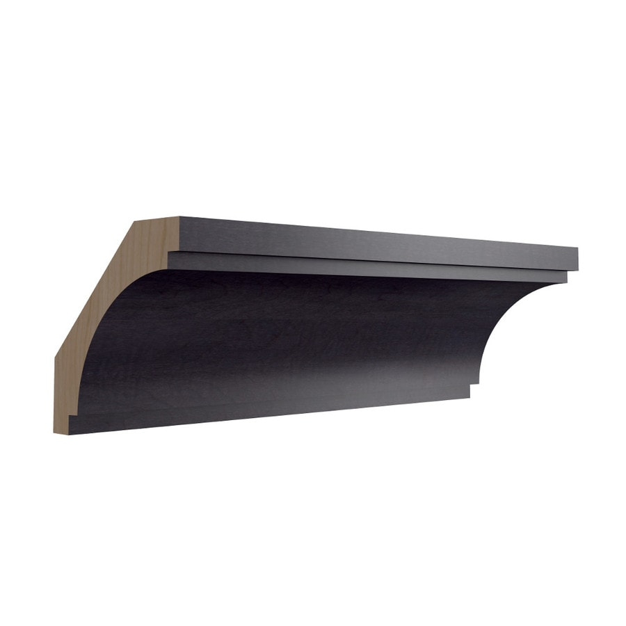 KraftMaid Momentum Dusk Contemporary Bellamy Crown Moulding (Common: 96-in x 2.625-in x 2.625-in; Actual: 96-in x 2.625-in x 2.625-in)
