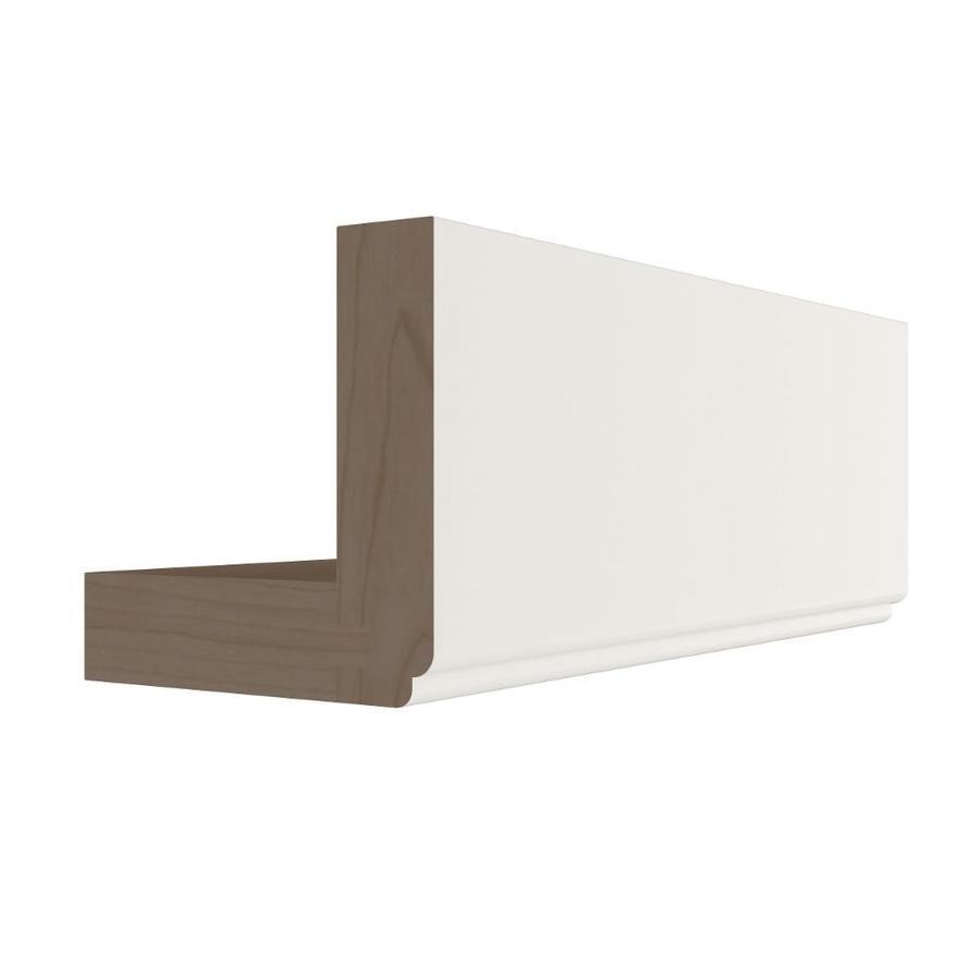 KraftMaid Momentum Cotton Standard Bellamy Starter Moulding (Common: 96-in x 3-in x 3-in; Actual: 96-in x 3-in x 3-in)