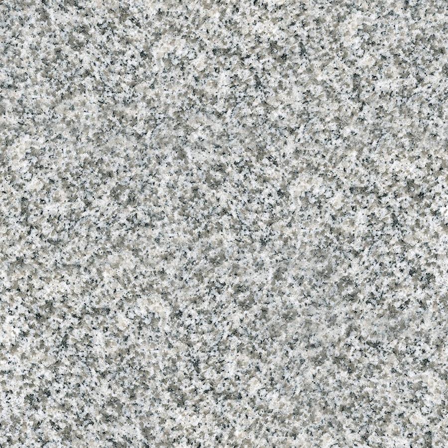 KraftMaid Momentum 4-in x 4-in Speckled White Granite Bathroom Vanity Top Sample