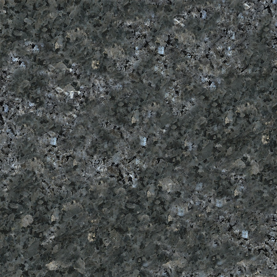 KraftMaid Momentum 4-in x 4-in Blue Pearl Granite Bathroom Vanity Top Sample
