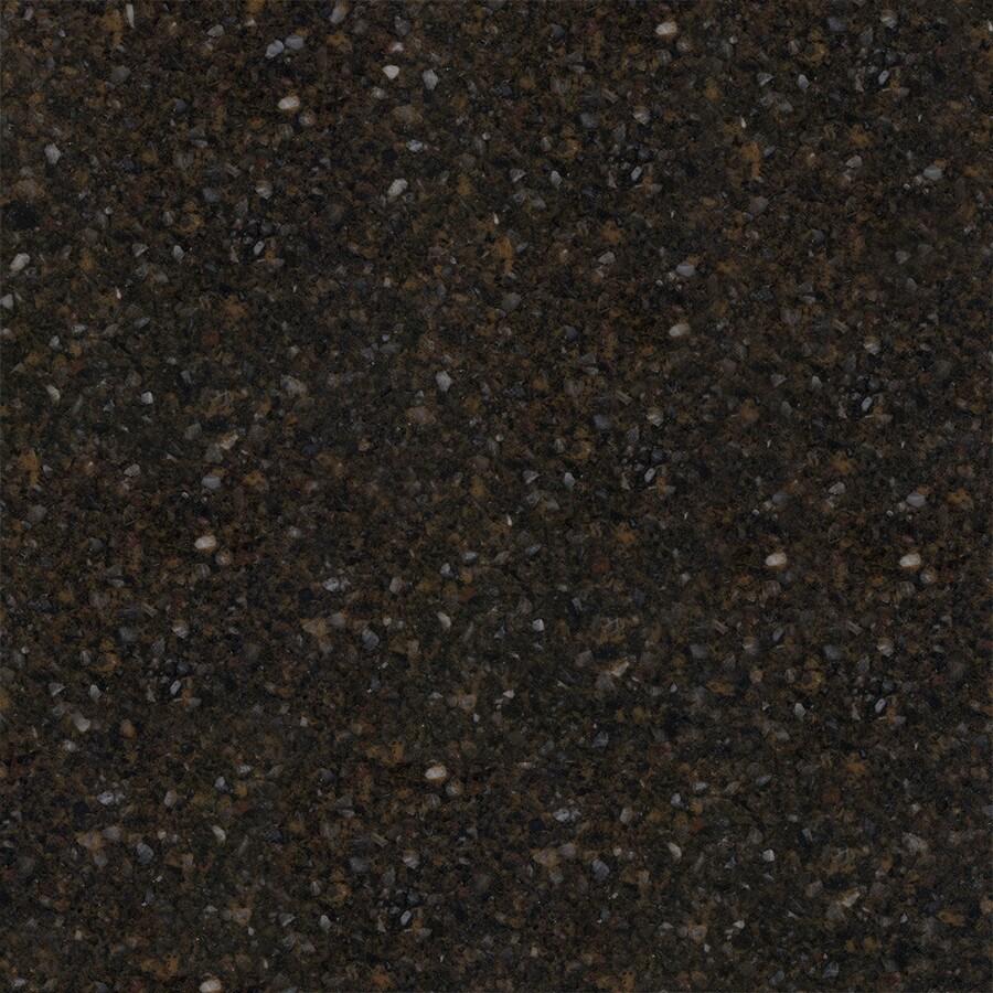 KraftMaid Momentum 4-in x 4-in Black Amber Quartz Bathroom Vanity Top Sample