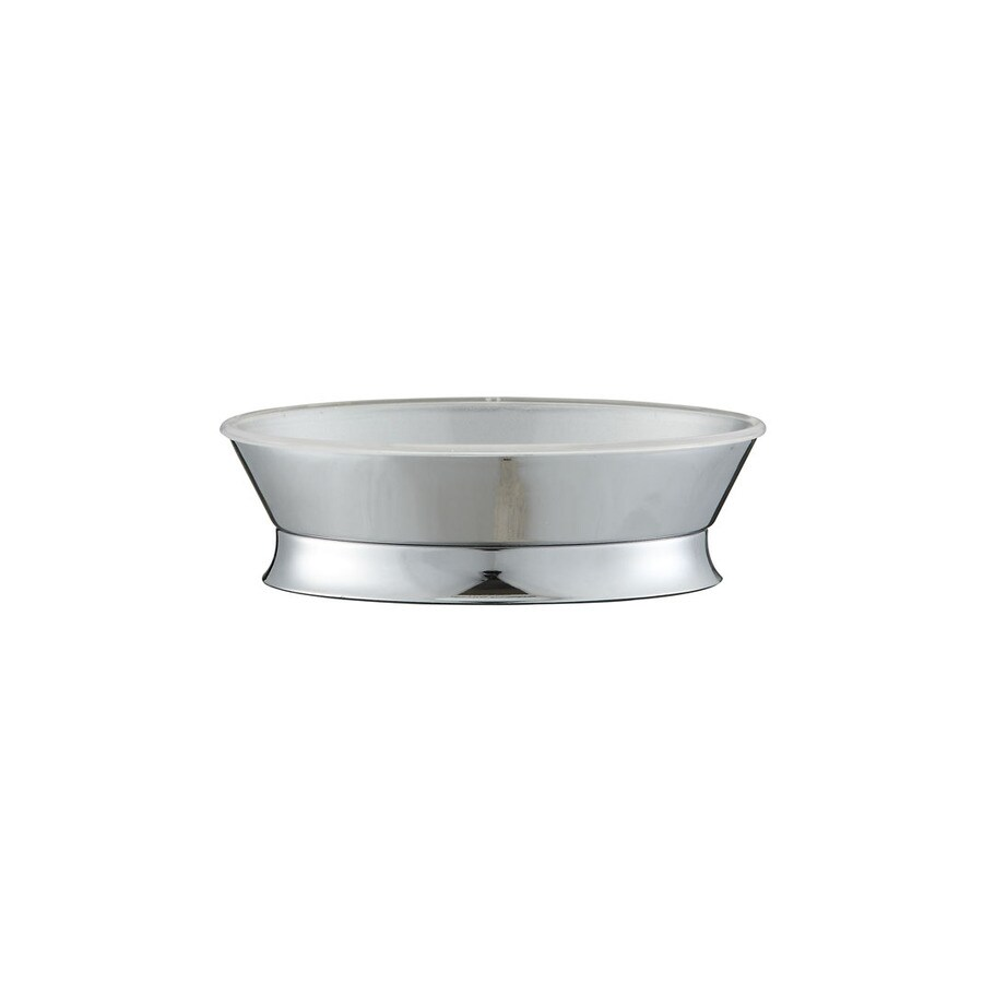 allen + roth Brinkley Chrome Metal Soap Dish