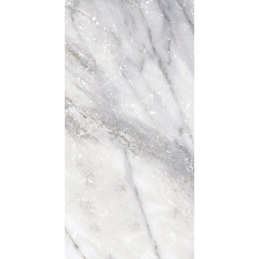 Style Selections Sovereign Stone Pearl Porcelain Marble Floor and Wall Tile (Common: 6-in x 12-in; Actual: 11.85-in x 5.93-in)
