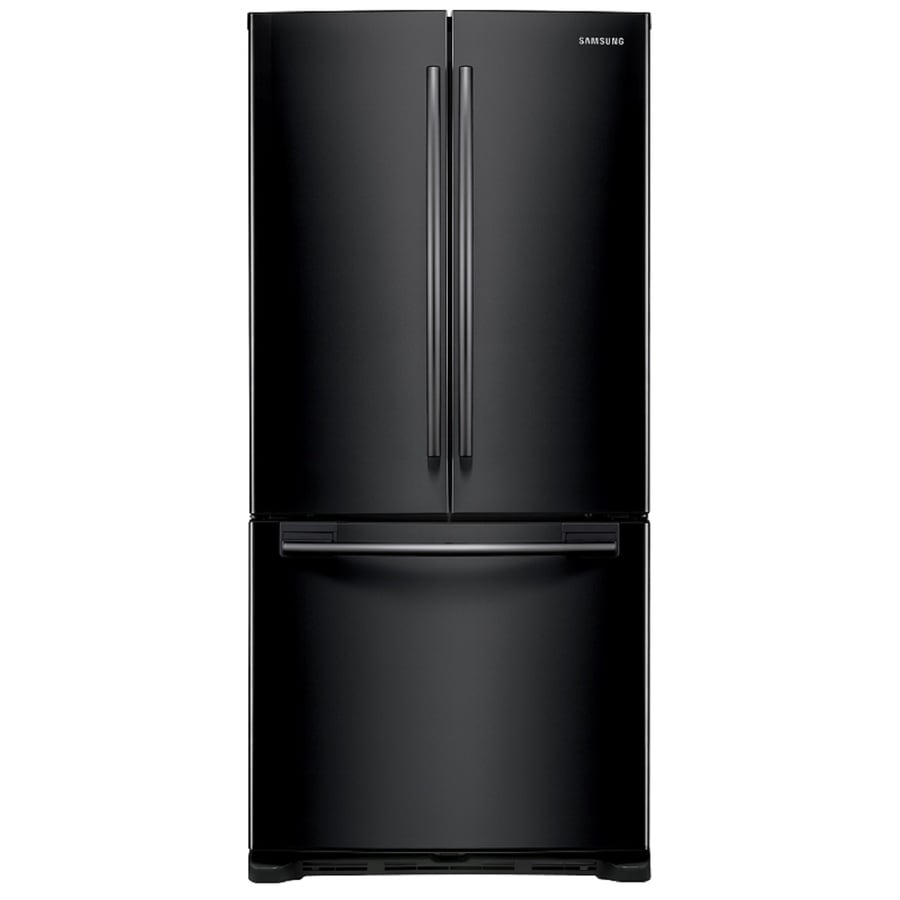 Shop samsung ft french door refrigerator with for 19 6 cu ft french door refrigerator